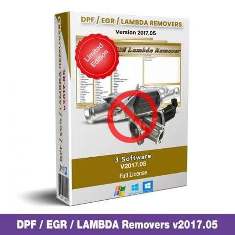 DPF, EGR and Lambda Removers