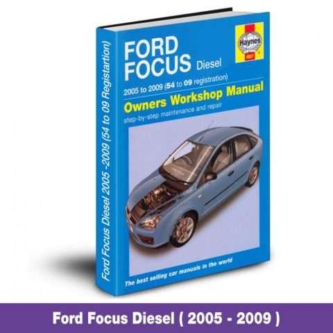 ford focus diesel workshop manual