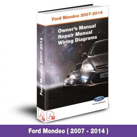 ford mondeo workshop manual