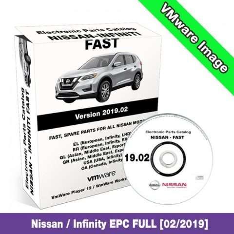 Nissan Infiniti Fast EPC 2019