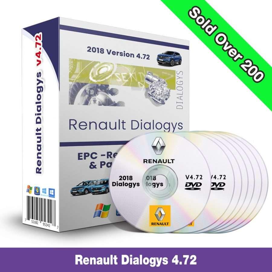 Renault Dialogys v4.72 Multilanguage