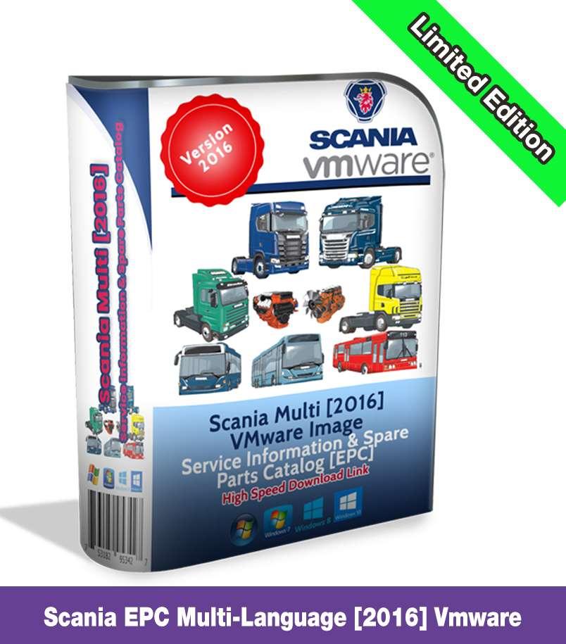 Scania Multi EPC & Workshop Repair Manual 2016